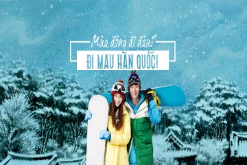 Du Lịch Hàn Quốc Mùng 3 Tết Âm Lịch : Seoul - Nami - Trượt Tuyết Tại Núi Yangji Pine