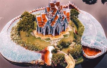 7 ngôi đền kiến trúc độc đáo ở Thái Lan