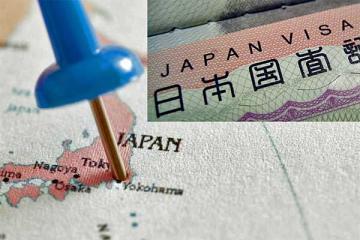 Người Việt xin visa Nhật Bản đông thứ 3 châu Á