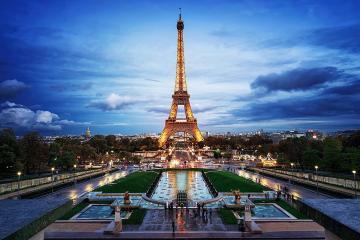 Du Lịch Châu Âu 5 Nước: Pháp - Luxembourg - Đức - Bỉ - Hà Lan (Tặng Bắc Kinh)