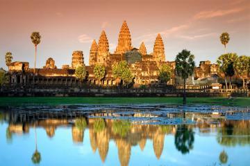 Du Lịch Campuchia : Siem Reap - Phnompenh