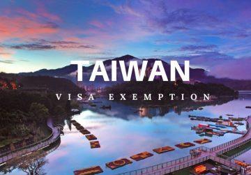 Du lịch Đài Loan bằng Visa của Nước phát triển