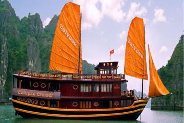 Du thuyền Calypso.