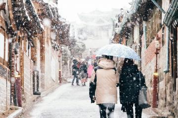 Cùng trải nghiệm mùa đông thú vị ở Hàn Quốc