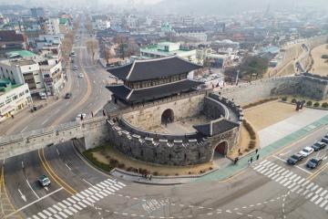 Dừng chân pháo đài suwon hwaseong - di sản văn hóa thế giới unesco