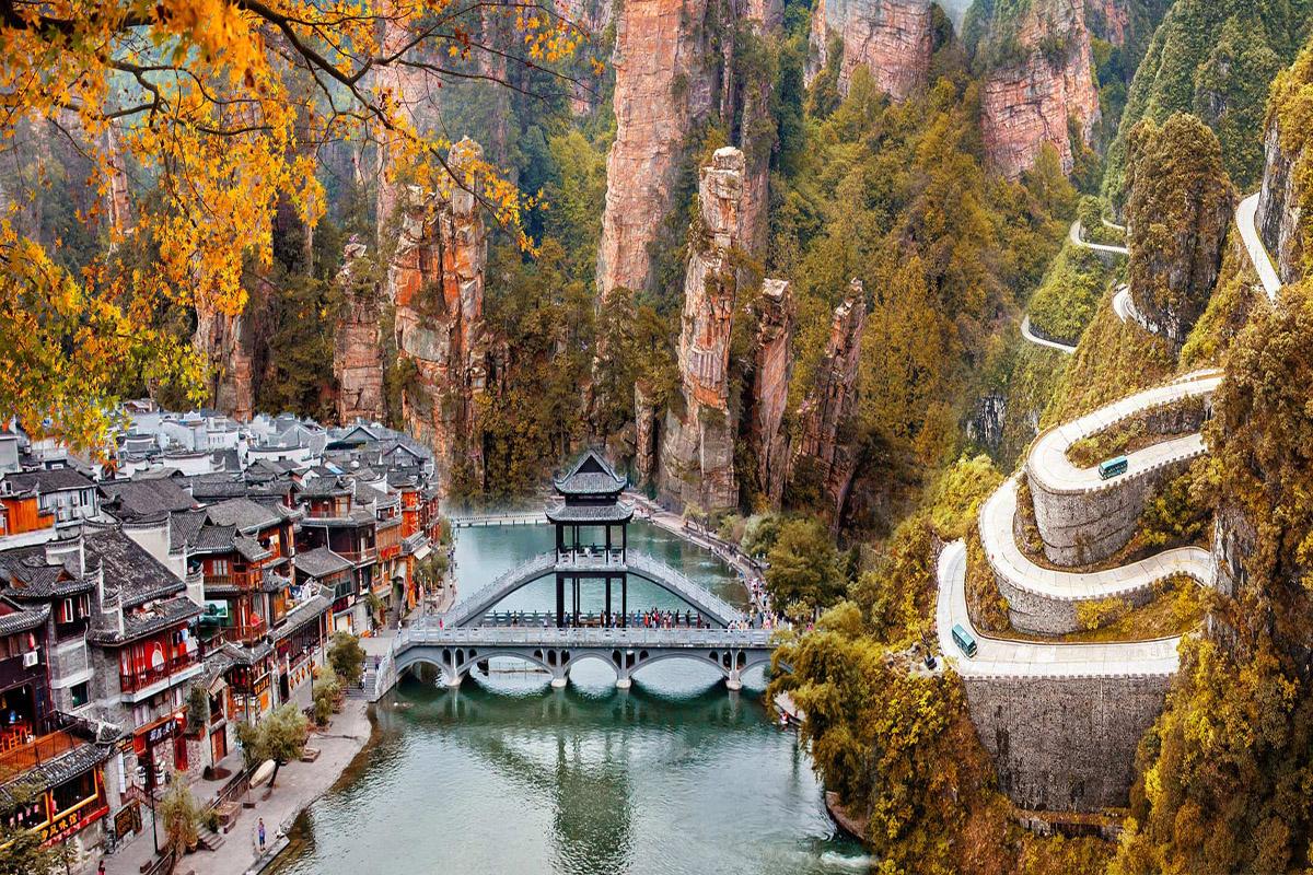 Tour Trung Quốc: Trương Gia Giới - Thiên Môn Sơn - Phượng Hoàng Cổ Trấn
