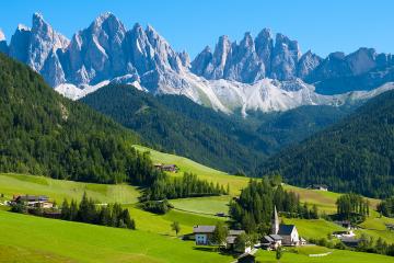 Thưởng Ngoạn Thụy Sĩ - Ý (ZURICH-ENGELBERG-NÚI TITLIS-MILAN-PISA -VENICE-COMO-ZURICH)