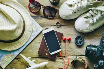 Những món đồ không thể thiếu khi bạn đi du lịch