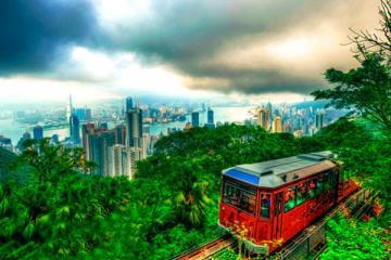 NGÀY 1: TP.HCM - HONGKONG - NÚI THÁI BÌNH - MIẾU THẦN TÀI (Ăn trưa, tối)
