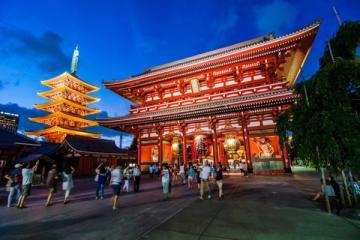 NGÀY 4: TOKYO - ĐỀN ASAKUSA - NARITA (Ăn sáng, trưa)