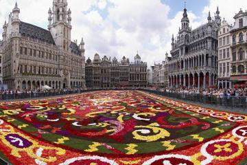 NGÀY 4: LUXEMBOURG - BRUSSELS - AMSTERDAM  (Ăn sáng, trưa, tối)