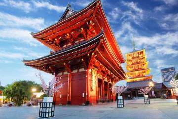 NGÀY 2: TOKYO - ĐỀN ASAKUSA - CUNG ĐIỆN HOÀNG GIA (Ăn sáng trên máy bay, trưa, tối)