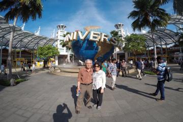 NGÀY 02:  SINGAPORE – ĐẢO SENTOSA