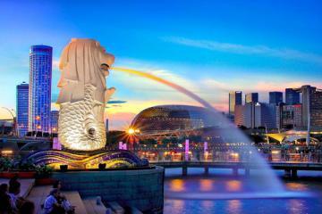 NGÀY 01: TP.HCM - SINGAPORE - CITY TOUR (Ăn trưa nhẹ, ăn tối)