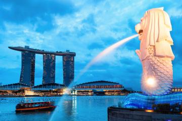 NGÀY 1: TP.HCM - SINGAPORE - CITY TOUR (Ăn trưa nhẹ, ăn tối)