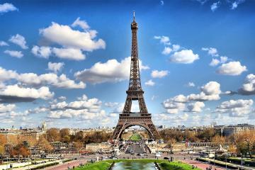 Ngày 5 (9/2):  THAM QUAN PARIS