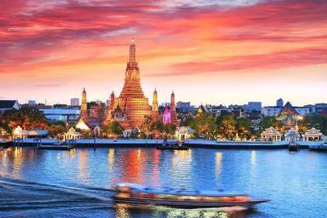 NGÀY 5: BANGKOK - DẠO THUYỀN SÔNG CHAOPHRAYA - CHÙA PHẬT VÀNG - TP.HCM (Ăn sáng)