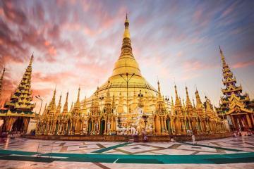 NGÀY 1: TP.HCM - MYANMAR - YANGON - CHÙA VÀNG SHWEDAGON (Ăn trưa, tối)